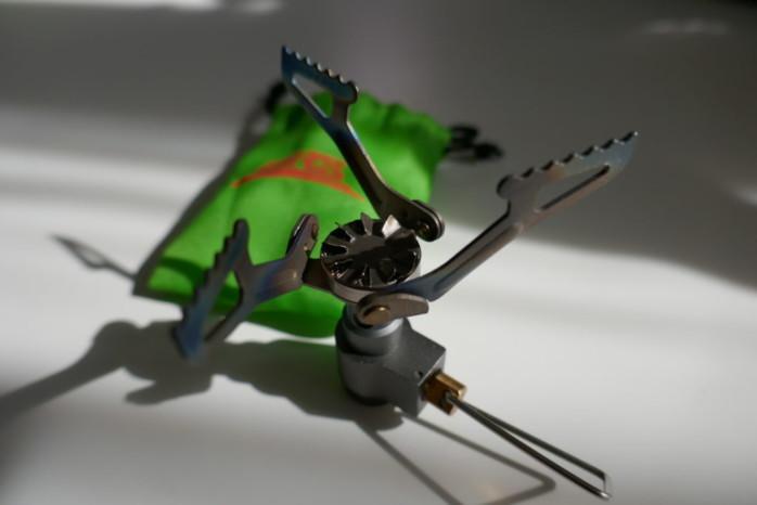 世界最軽量 BRS チタンシングルバーナー ライトウェイトな風防2種