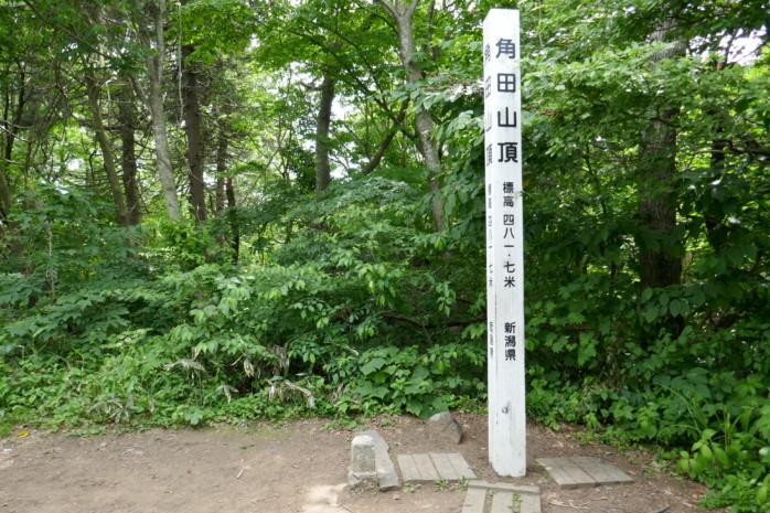 海側から登る角田山(かくだやま)の浦浜コースは静かで登りやすくて初心者向き