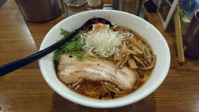 『麺場ふうらいぼう』 長岡ICに近くアクセス抜群の名店。大盛無料、絶品醤油スープがうまい!