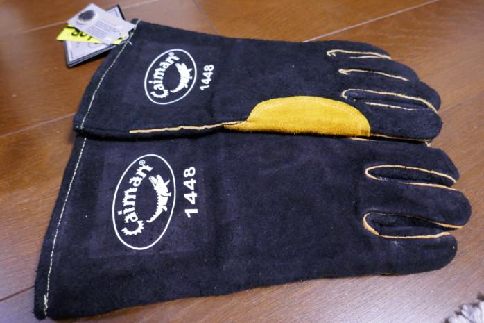 焚き火や野外作業で使えるタフな革手袋を買う!ワニのロゴがかわいいカイマングローブ おすすめキャンプグローブ15選