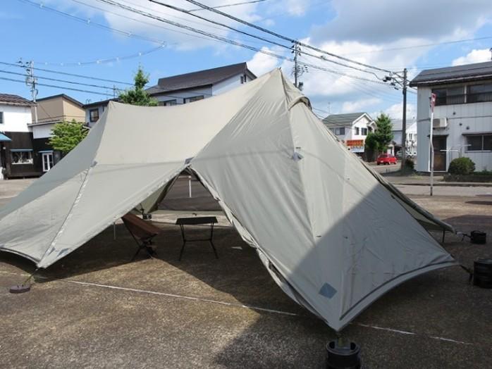 ナショナル ジオ グラフィック テント