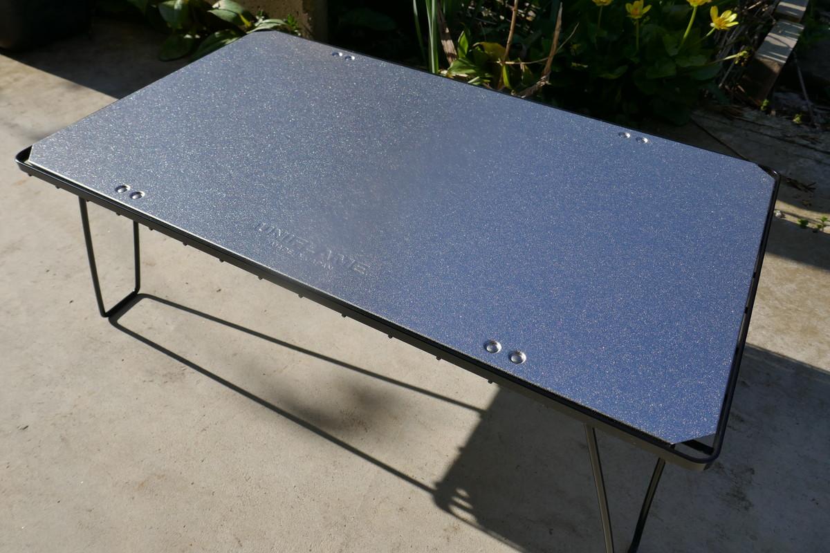 ユニフレーム2020新製品 フィールドラックステンレス天板ⅡをGetしました。