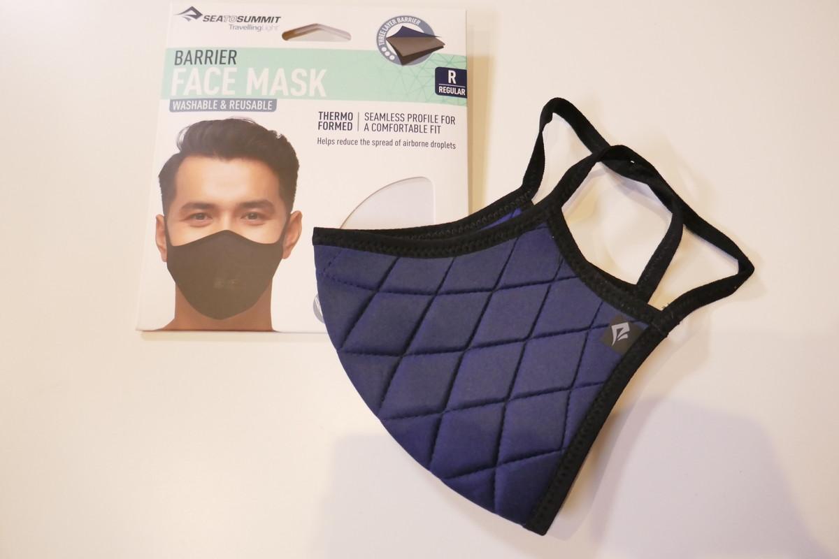 アウトドアブランドのマスク SEA TO SUMMITシートゥサミット バリアフェイスマスク