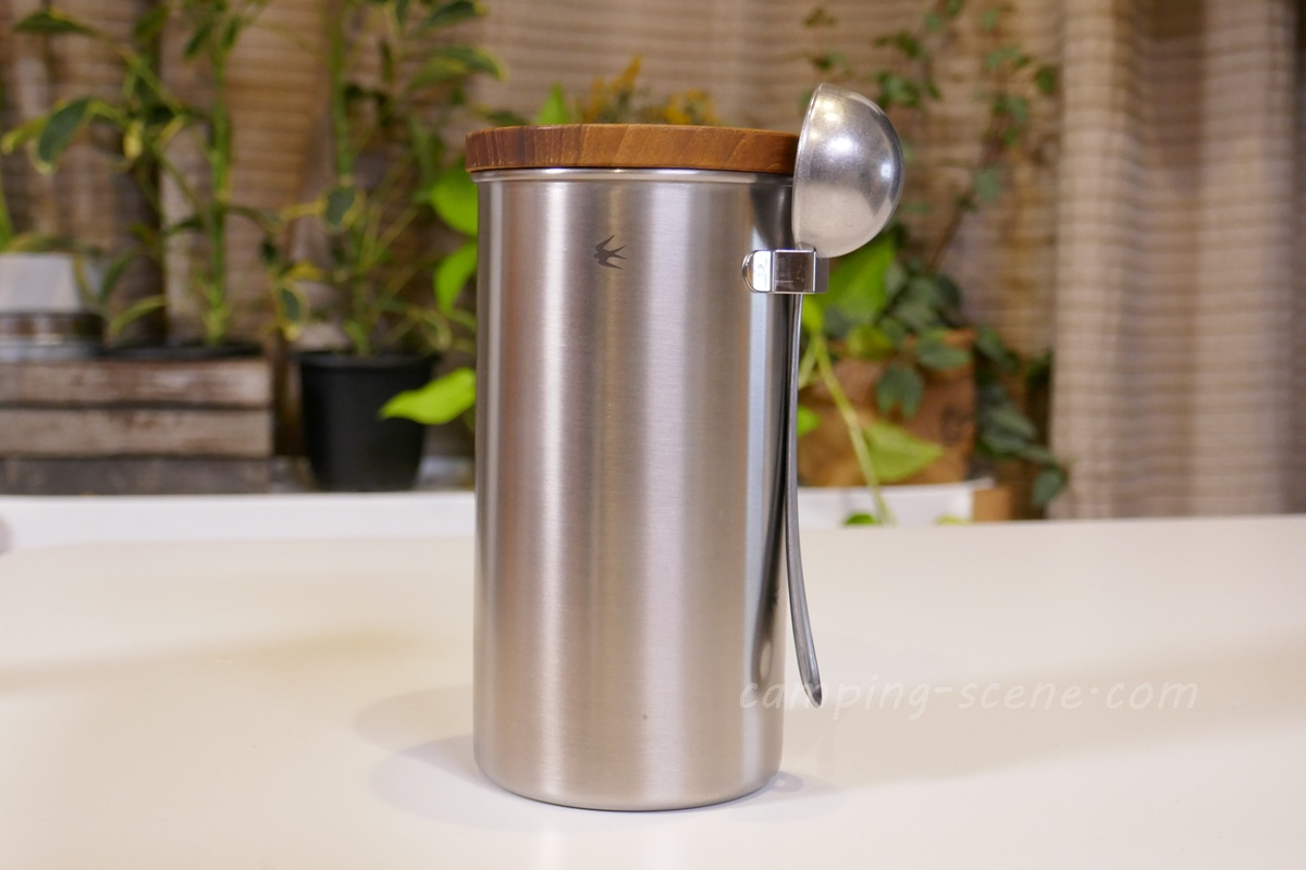 質感高いツバメ製。GLOCAL STANDARD PRODUCTS グローカルスタンダードプロダクツのコーヒーキャニスターを購入。