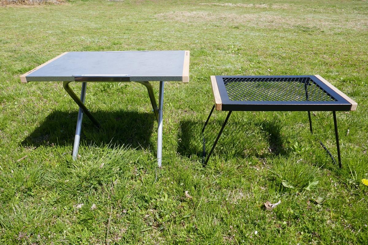 BUNDOK(バンドック) IRテーブルと熱に強く頑丈なアイアンメッシュテーブル7選。
