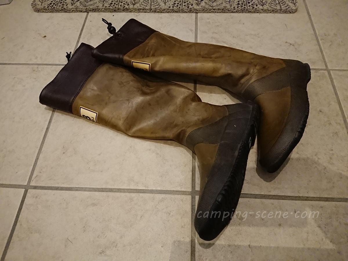 雨キャンプで履きたい折りたたみできる長靴。パッカブルレインブーツ14選