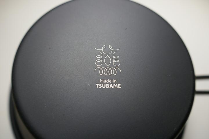 『Made in TSUBAME 』ブラックシェラカップのシンプルさがかっこいい